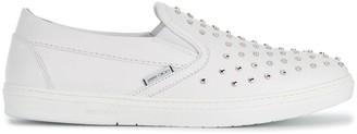 Jimmy Choo Grove slip-on sneakers