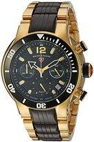 Swiss Legend Men's 'Sharkarma' Quartz Stainless Steel Casual Watch, Color:Two Tone (Model: 14083SM-YG-11-BB)