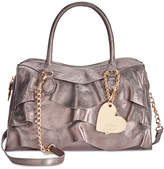 Betsey Johnson Just For the Frill Of It Large Satchel