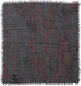 Valentino Printed Cashmere Silk Wool Bandana