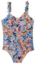 Hula Star 'Heavy Petal' One-Piece Swimsuit (Toddler Girls & Little Girls)