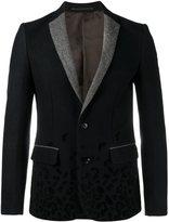 Kolor leopard print blazer - men - Nylon/Cupro/Wool - 3