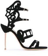 Sophia Webster Birdie cage sandals - women - Leather/Polyester - 37.5