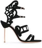 Sophia Webster Birdie cage sandals - women - Leather/Polyester - 37