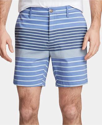 "Nautica Men Twill Stripe 6"" Shorts"