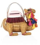 Kate Spade Spice Things Up Camel Wicker Basket