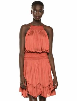 Halston Women's Sleeveless Cami Dress w/Stitch Detail
