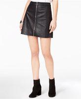 Kensie Embossed Mini Skirt