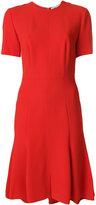 Stella McCartney embroidered belt dress