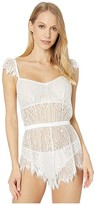 Cosabella Clara Teddy (Moon Ivory) Women's Jumpsuit & Rompers One Piece