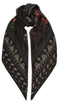 Givenchy Screaming Monkey Scarf