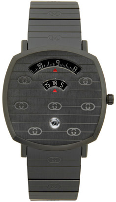Gucci Black Grip Watch