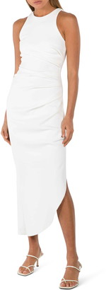 Misha Collection IdaTextured Crepe Cocktail Dress