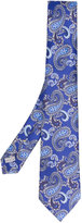 Canali paisley embroidered tie - men - Silk - One Size