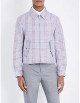 Thom Browne Harrington Check-print Shell Jacket