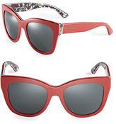 Dolce & Gabbana 55mm Cats-Eye Sunglasses