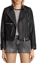 AllSaints Milne Leather Biker Jacket