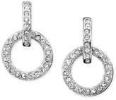Eliot Danori Earrings, Crystal Accented Circle