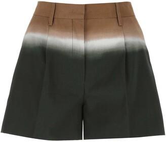 Prada Tie-Dye Printed Shorts