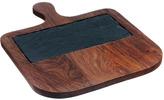 Just Slate Sheesham Wood Serving Paddle with Slate Insert