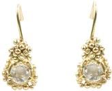 Kaia Diamond Drop Earrings on Solid Yellow gold