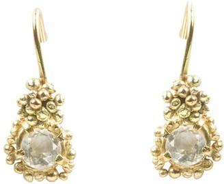 Lily Flo Jewellery Kaia White Sapphire Drop Earrings