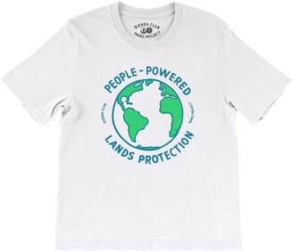 Parks Project x Sierra Club People Powered Boxy Graphic Tee
