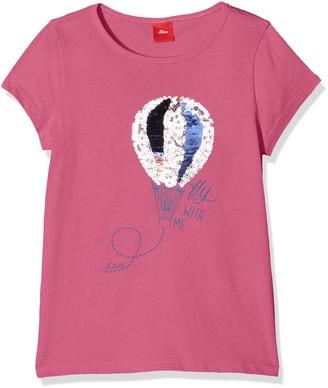 S'Oliver Girls' 53.801.32.6477 T-Shirt