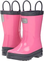 Hatley Pink & Navy Rain Boots (Toddler/Little Kid)