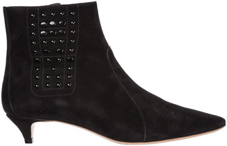 Tod's Studded Ankle Boots