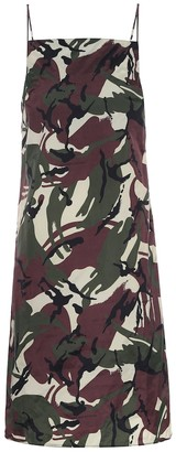 Kwaidan Editions Camouflage slip dress
