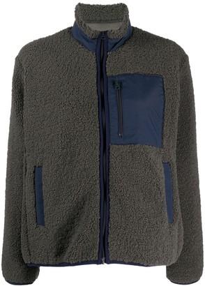 YMC Textured Zipped Sweater