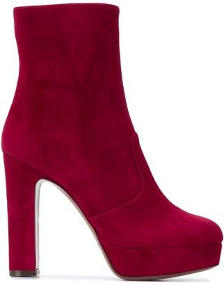 L'Autre Chose Side-Zip Ankle Boots