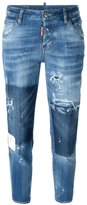 DSQUARED2 distressed Hockney jeans