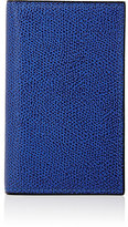 Valextra Women's Folding Card Case-BLUE