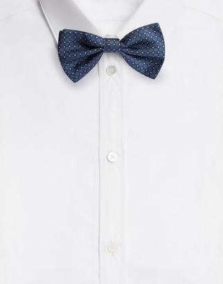 Dolce & Gabbana Silk Jacquard Bow Tie