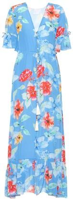 Athena Procopiou Floral-printed silk dress