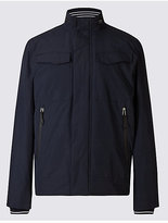 Blue Harbour Fleece Bomber Jacket with StormwearTM