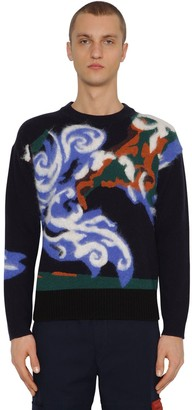 Kenzo Wool & Mohair World Sweater