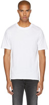 BLK DNM White 125 Raw Crewneck T-shirt