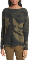 Rag & Bone Women's Sinclair Camouflage Jacquard Sweater