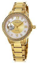 Stuhrling Original Women's 491.04 Legacy Analog Display Automatic Self Wind Gold Watch