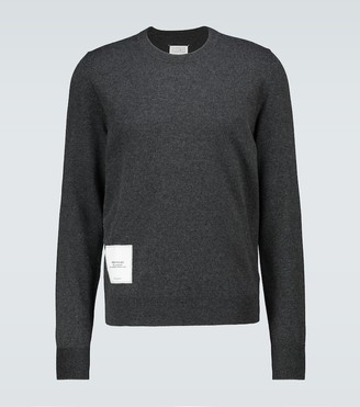 Maison Margiela Recycled knit crewneck sweater