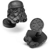Matte 3D Stormtrooper Helmet Cufflinks