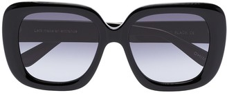 Chimi Extended oversized square-frame sunglasss