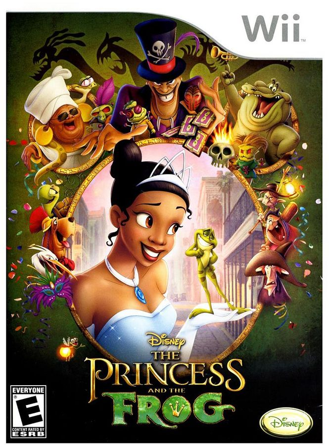Nintendo Disney the princess and the frog for wii