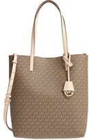 MICHAEL Michael Kors 'Large Hayley' Faux Leather Tote