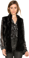 BB Dakota Jack By Barlett Faux Fur Vest