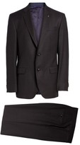 Ted Baker Men's Jay Trim Fit Solid Wool Suit