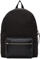 Alexander McQueen Black and Grey Skull Pocket Backpack